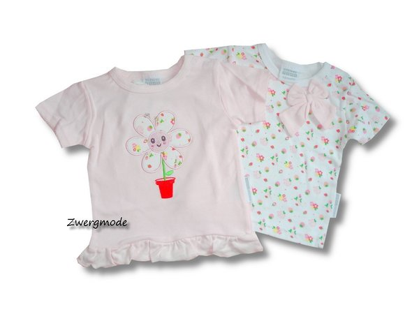 "Nursery Time - 2er Pack T-Shirts ""Flowers"" Gr. 62-68 *NEU*"